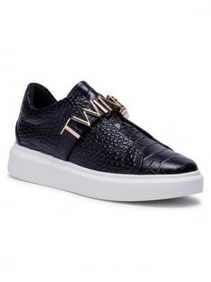 TwinSet Sneakersy 202TCP034 Czarny