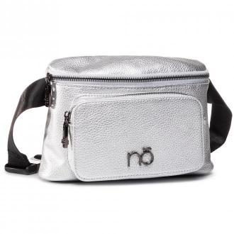 Saszetka nerka NOBO - NBAG-I3140-C022 Srebrny
