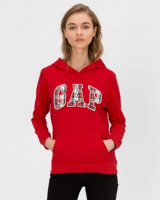 GAP czerwona bluza damska z logiem - XXS