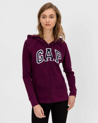 GAP fioletowa bluza damska z logiem - XXS