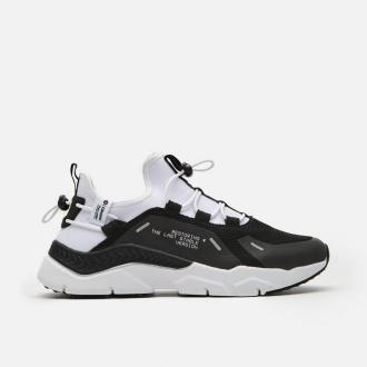 Cropp - Sneakersy z kontrastowymi elementami - Biały