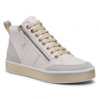 Sneakersy GEOX - D Leelu' G D94FFG 08522 C1000  White
