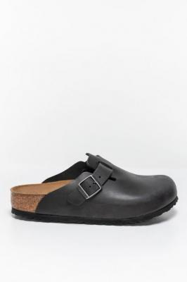 Klapki Birkenstock Boston NU Oiled Black 59461 BLACK