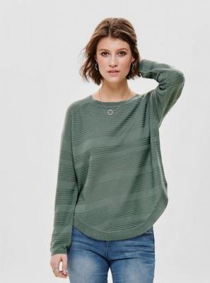 Zielony lekki sweter ONLY Caviar - M