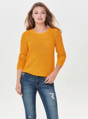 Musztardowy sweter ONLY Geena - XS