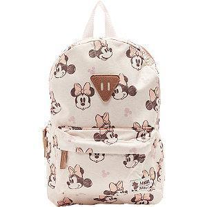 Jasnoróżowy plecak dziewczęcy Minnie Mouse