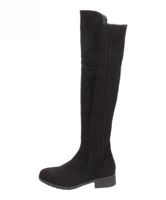 Czarne kozaki damskie FILIPPO DKZ567