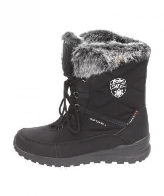Śniegowce damskie AMERICAN SOFTSHELL SN04 BK