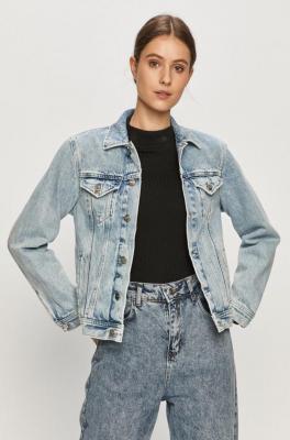 Pepe Jeans - Kurtka jeansowa Rose Archive