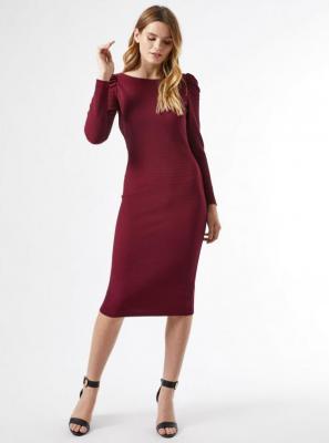 Sukienka Dorothy Perkins w kolorze bordowym - L