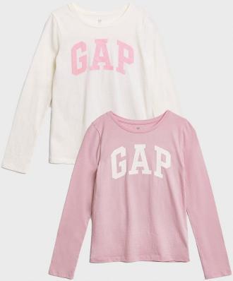GAP kolorowy dziewczęce koszulka - M