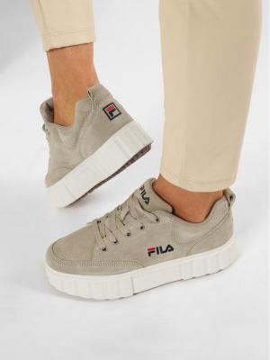 Fila Sneakersy Sandblast S Wmn 1011036.30X Beżowy
