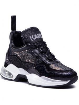 KARL LAGERFELD Sneakersy KL61781 Czarny