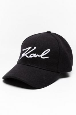 Czapki z daszkiem Karl LAGERFELD Cappello 206W3408-999 BLACK