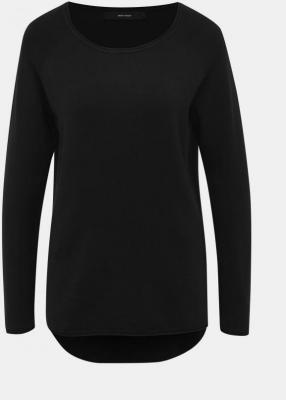 Czarny lekki sweter basic VERO MODA Ellie Glory - XS