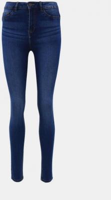 Niebieskie jeansy skinny od Noisy May Callie - XL