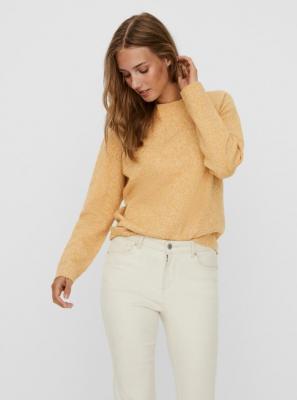 Żółty sweter VERO MODA - S