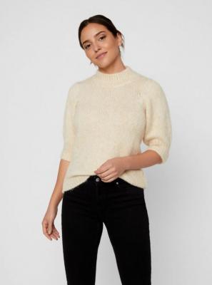 VERO MODA Diana kremowy sweter - M