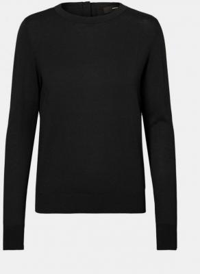 Czarny, lekki sweter VERO MODA Milda - XS