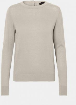 Kremowy, lekki sweter VERO MODA Milda - XS