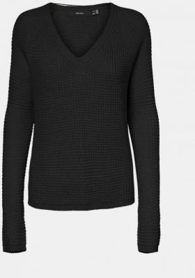 Czarny sweter VERO MODA Leanna - XS