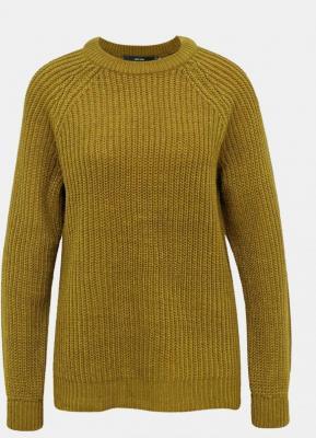 Sweter w kolorze khaki VERO MODA Lea - L
