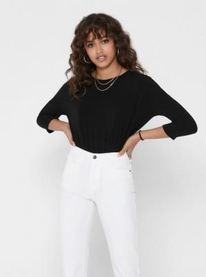 Czarny, lekki sweter TYLKO Glamour - XS
