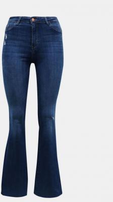 Niebieskie jeansy rozkloszowane TALLY WEiJL - XS