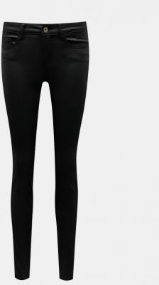 Czarne spodnie skinny fit z wykończeniem Noisy May - XS