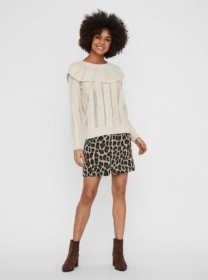 Sweter VERO MODA Cayden w kolorze kremowym - XS