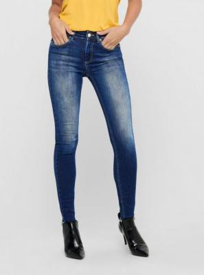 Niebieskie jeansy skinny ONLY Blush - XS