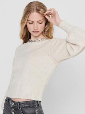 Bluza TYLKO w kolorze kremowym Elsa - XS