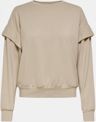 Beżowa bluza TYLKO Fanna - S