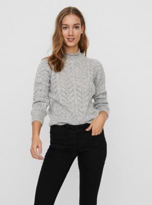 Szary lekki sweter VERO MODA - XS
