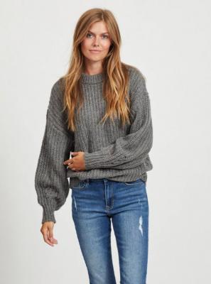 Szary sweter VILA - M