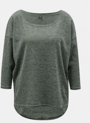 Zielony luźny sweter TYLKO Alba - XS