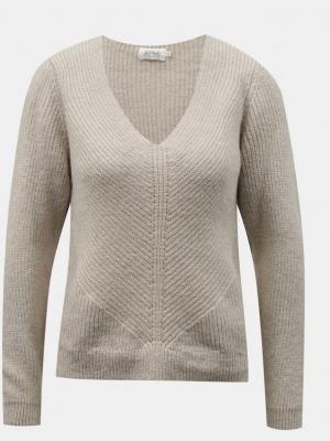 TYLKO kremowy sweter - XS