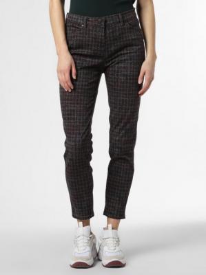 TONI - Spodnie damskie – Perfect Shape Skinny, szary