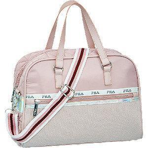 Różowa torba sportowa Fila