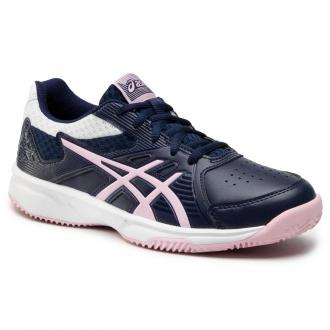 Buty ASICS - Court Slide Clay 1042A031 Peacoat/Cotton Candy 409