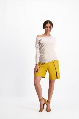 Beżowy sweter damski 84099
