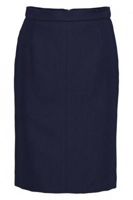 Granatowa spódnica ołówkowa Lola Oslo 83743