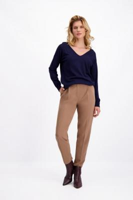 Granatowy sweter damski Tilda 84823