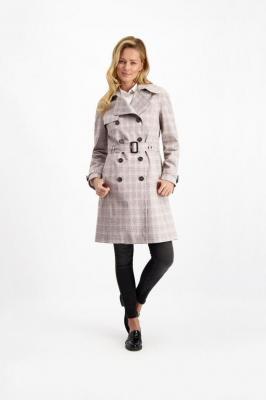 Bawełniany płaszcz damski wiosenny Mela Tipo 85003