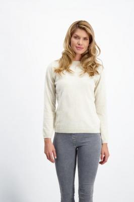 Beżowy sweter damski Yoko Kaszmir 85196