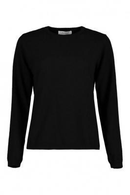 Czarny sweter damski Yoko Kaszmir 85407