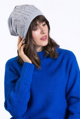 Bawełniana czapka z aplikacją