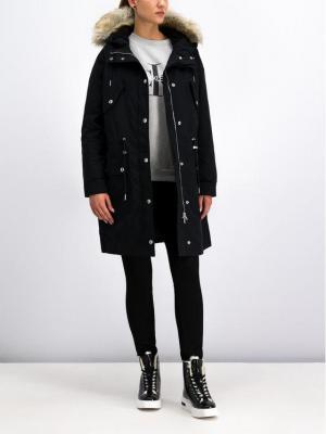 Calvin Klein Jeans Kurtka zimowa J20J211535 Czarny Regular Fit