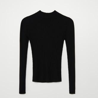 Cropp - Sweter z półgolfem - Czarny