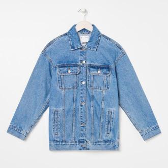 Sinsay - Kurtka jeansowa - Niebieski
